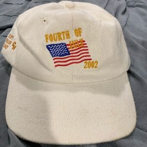 Vintage 4th of July hat
